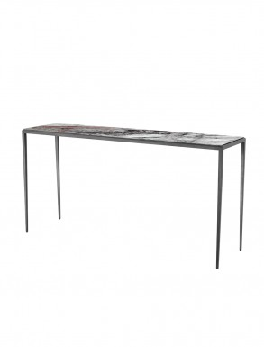 Large marble console table