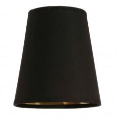 Nickel Granham Wall Lamp with Black Shade 721N