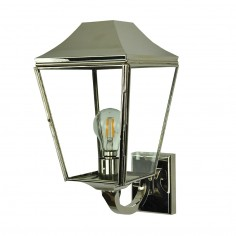 Kemble Wall Lantern in Nickel