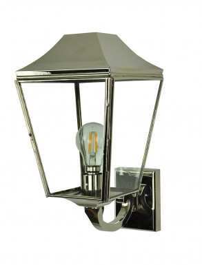 Kemble Wall Lantern in Nickel