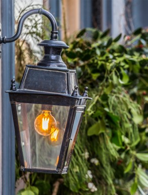 Small Battledown Overhead wall lantern