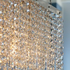 Battledown Crystal Rectangular Chandelier
