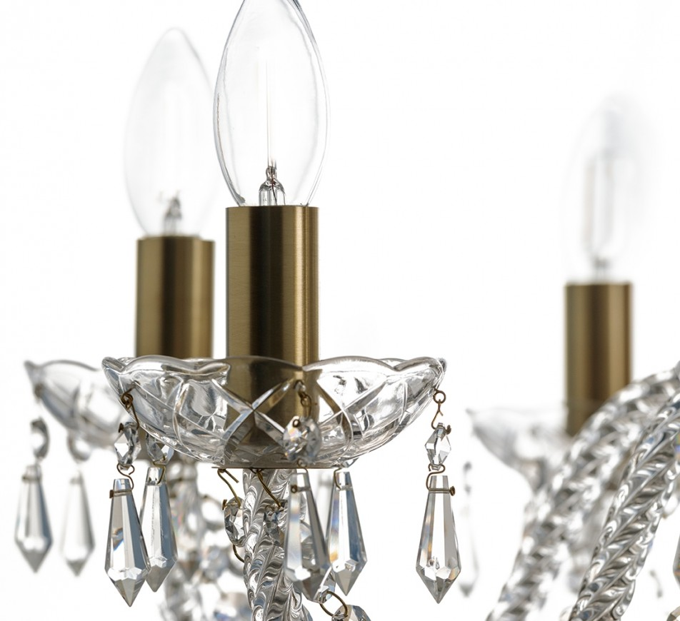 Fawley Crystal Chandelier
