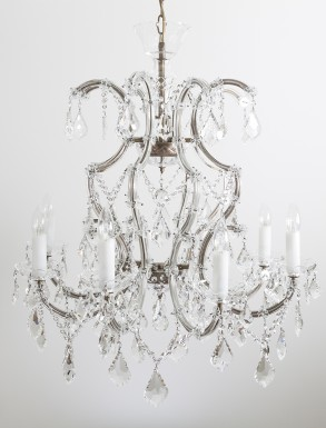Wellington Large Crystal Chandelier