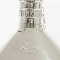 Deck Industrail Lamp in Nickel Limehouse