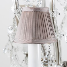 Wellington Large Crystal Chandelier with shades