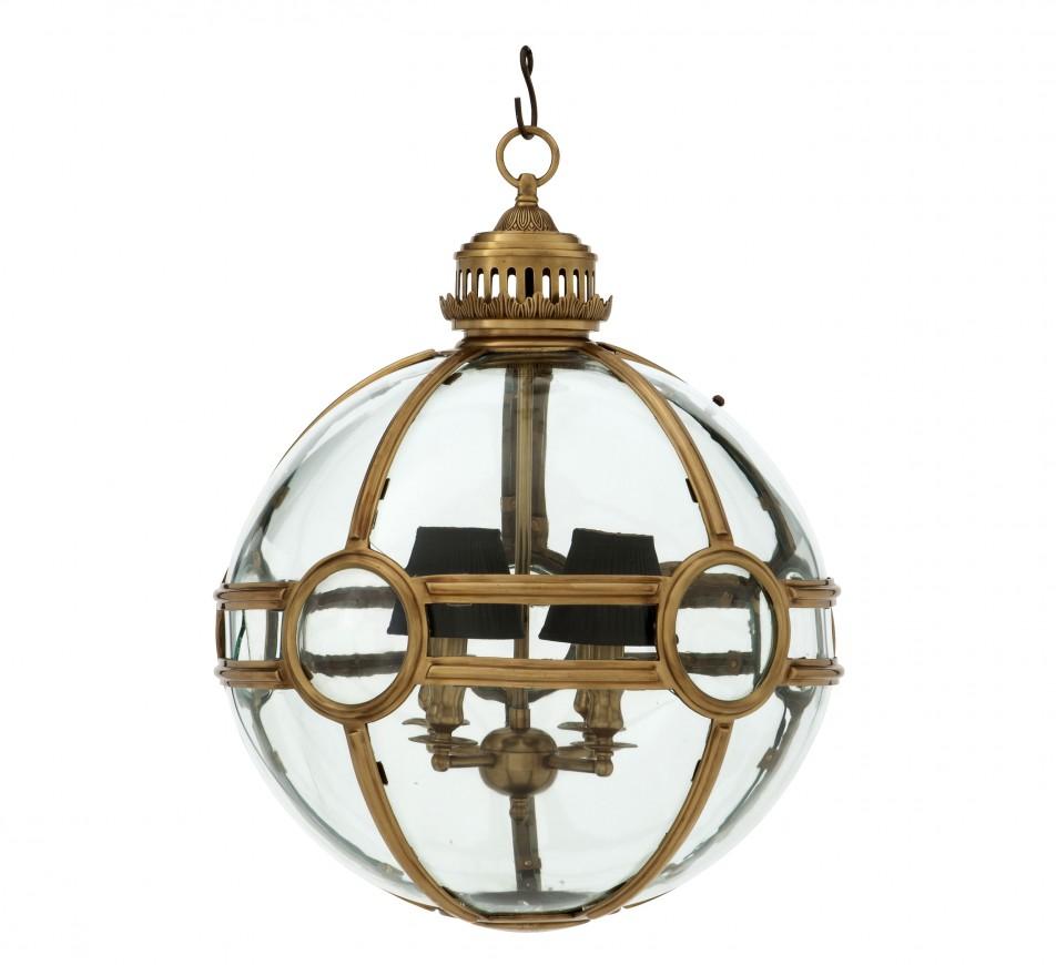 Large Globe Lantern Hagerty EICHOLTZ