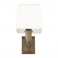 Wall Lamp Lexington Single EICHHOTZ White Shade