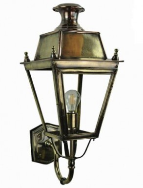 Battledown Wall Lantern Medium (Bottom Wall Mounted) 1 Bulb