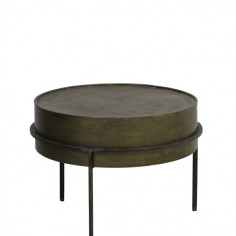 Ferro Side Table In Bronze