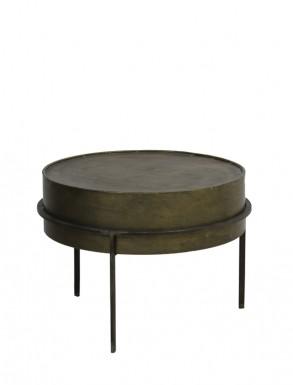 Ferro Side Table In Bronze