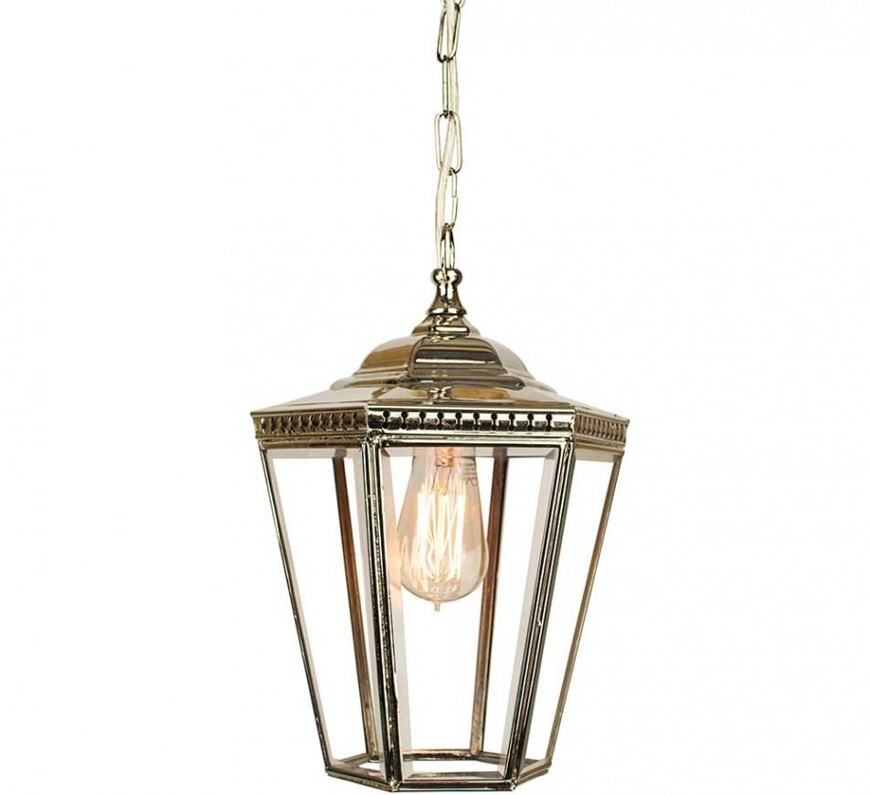 Collins Hanging Lantern Small Nickel