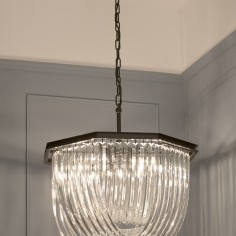The Twyning Glass Chandelier