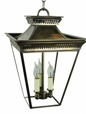Pittville Medium Hanging Lantern (3 bulbs)