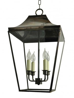 Kemble Hanging Lantern Large 4 bulbs