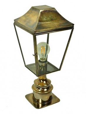 Kemble Pillar Lantern Short