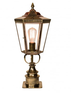 Collins Gate Pillar Lantern Short