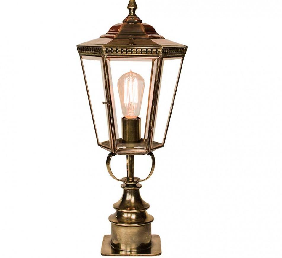 Collins Gate Pillar Lantern Short