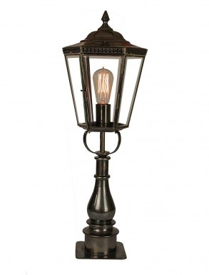 Collins Gate Pillar Lantern Tall