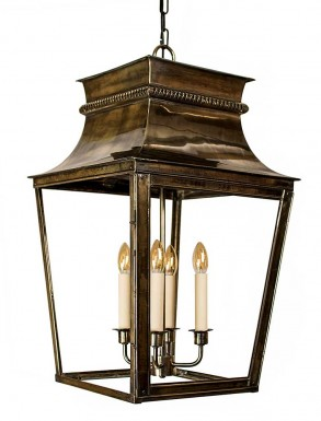 Clementine Outdoor Porch Lantern Large