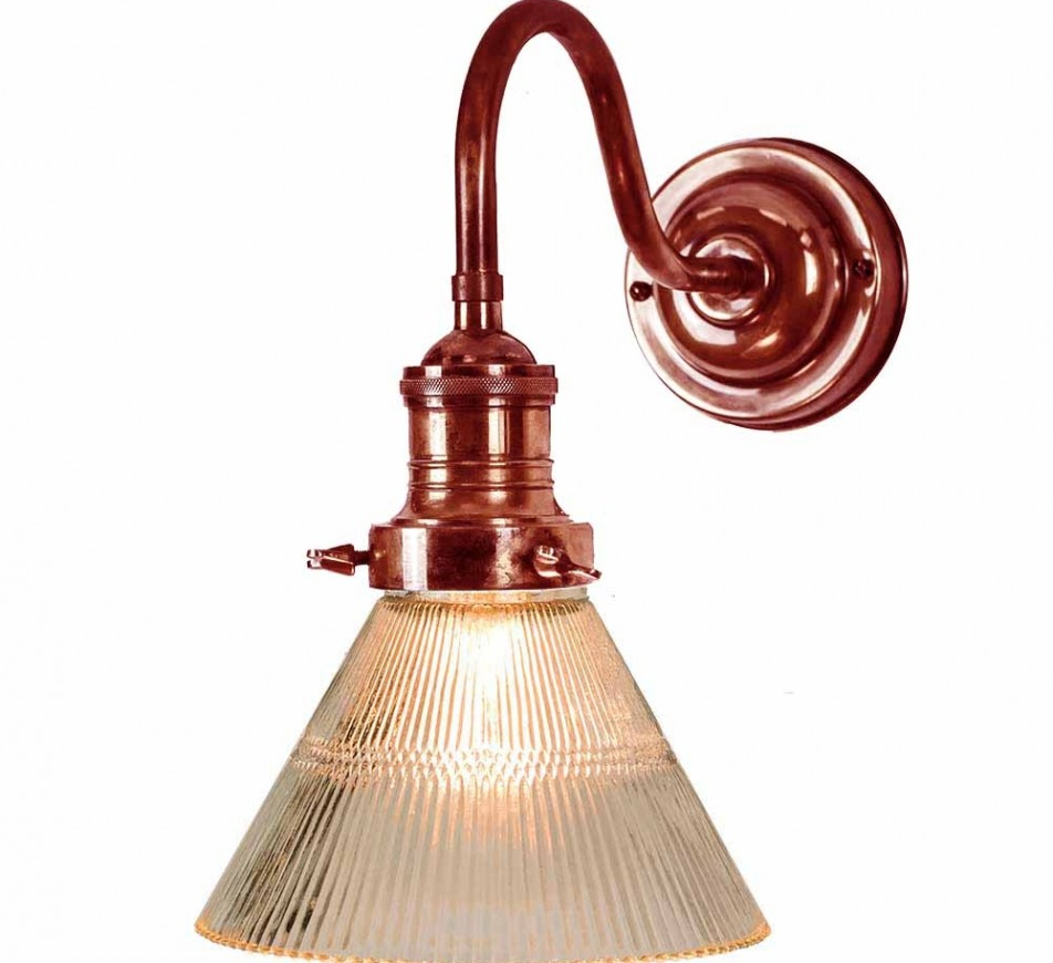 Preston Cone Wall Light