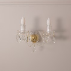 Charlton Crystal Wall Lights