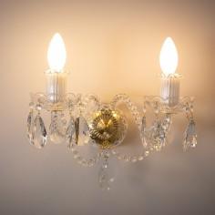 Charlton Crystal Wall Lights