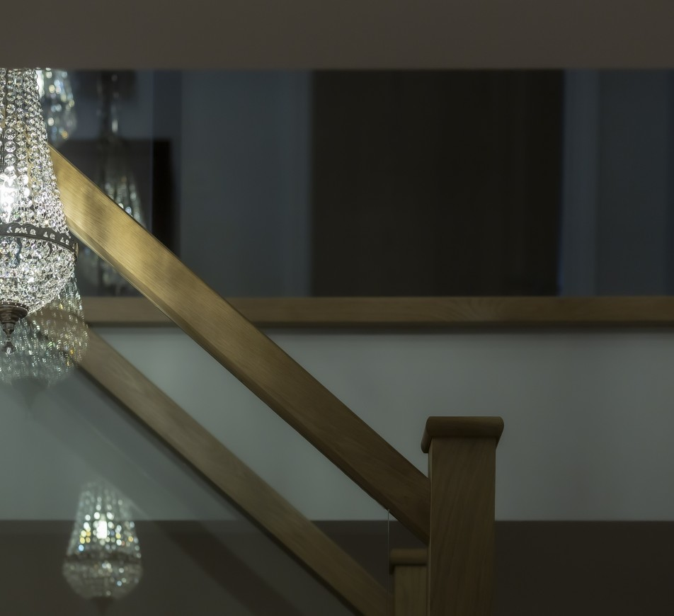 Henley Crystal Staircase Chandelier