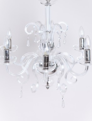 Beaudesert Glass Chandelier