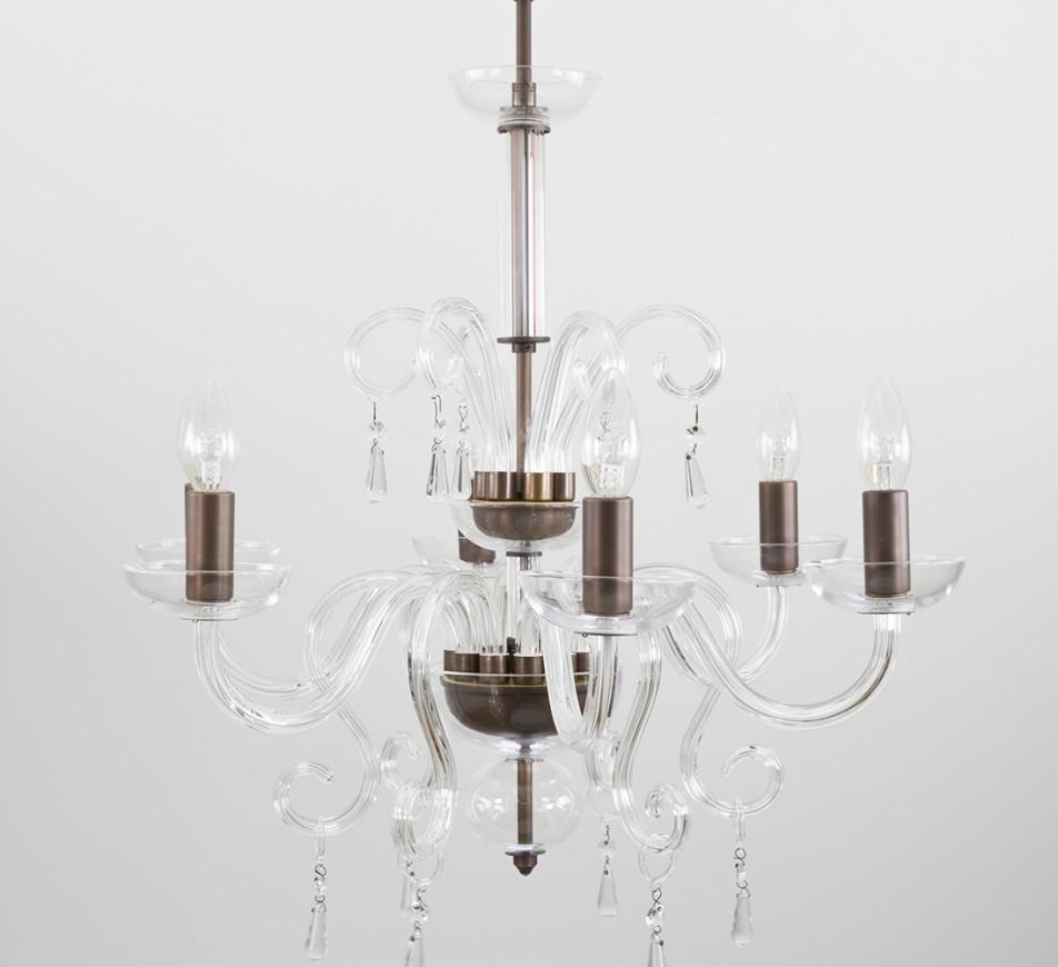 Beaudesert Glass Chandelier