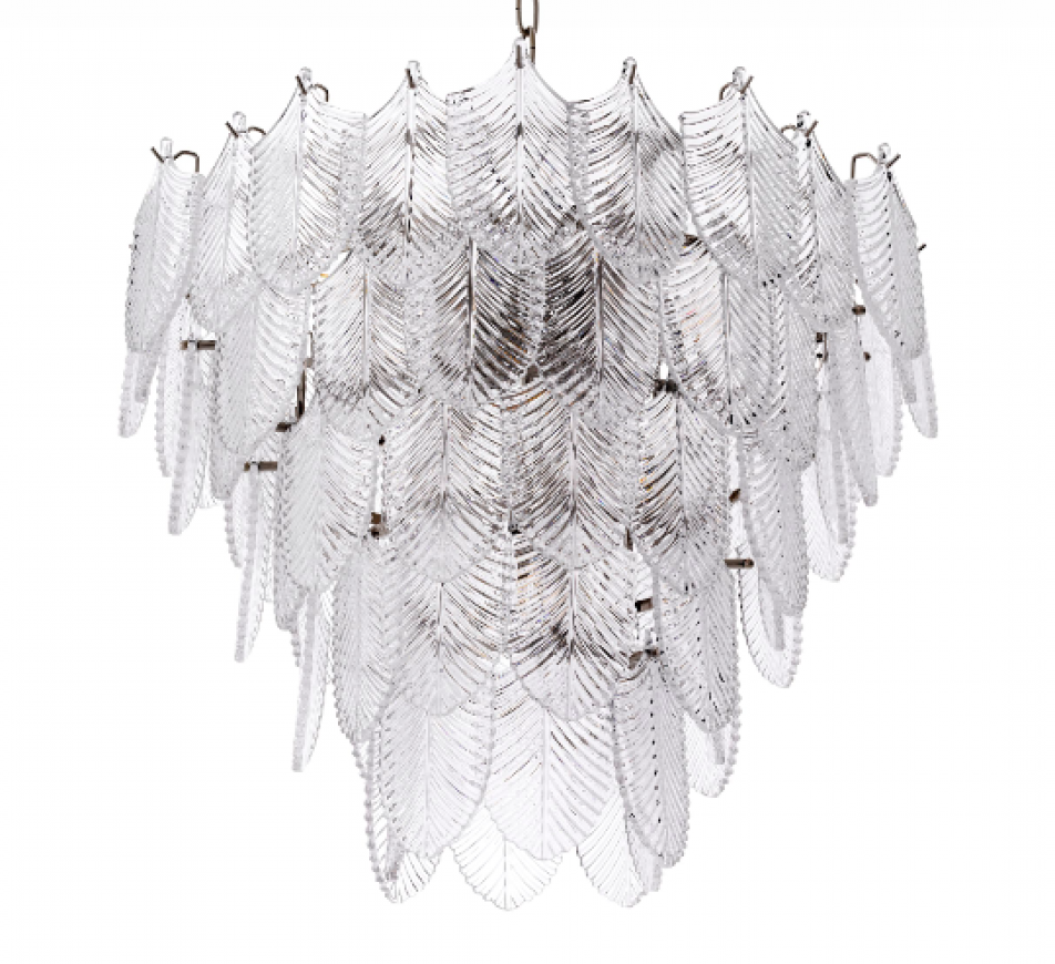 CHANDELIER VERBIER S Nickel