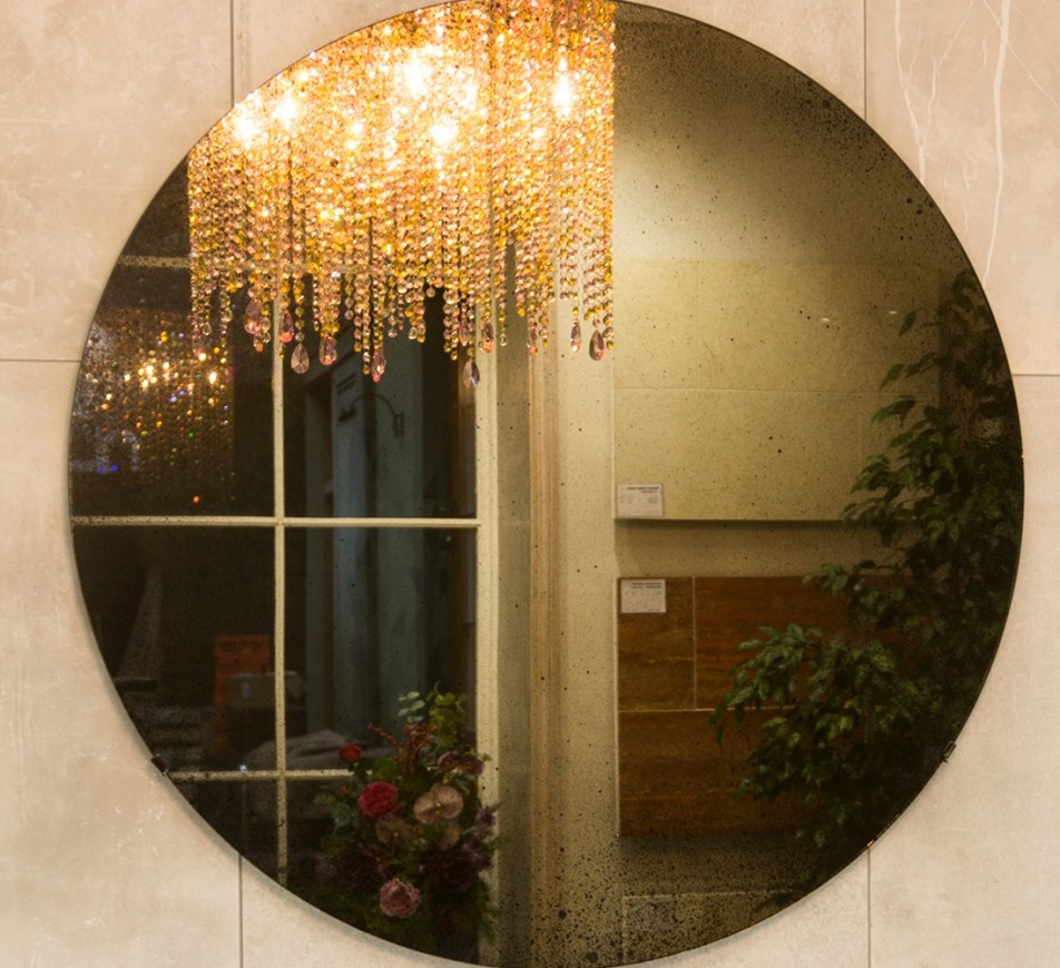Convex Distressed Mirror