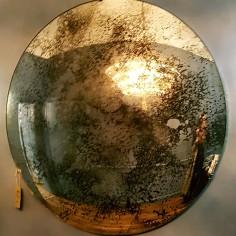 Convex Distressed Mirror