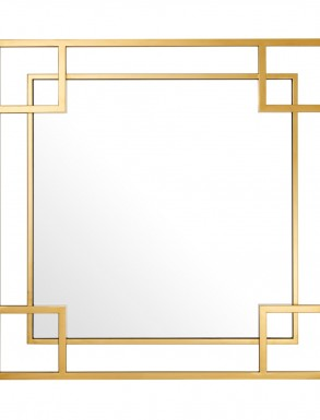 Mirror Morris Gold Finish