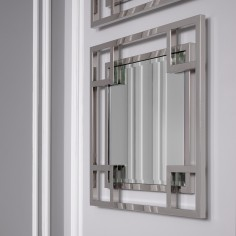Mirror Morris Nickel Finish
