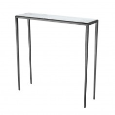 Small marble console table